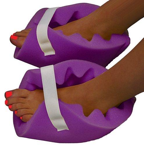 Vakly Convoluted Foam Heel Protectors (1 (Foam Heel)