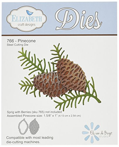 Elizabeth Craft Designs Elizabeth Craft Metal Die, - Design Pinecone