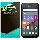 Klear Cut [6-Pack] - Anti-Glare Screen Protector for Kyocera Hydro Air LTE - Lifetime Replacement Warranty - Anti-Bubble & Fingerprint Resistant HD Matte PET Shield