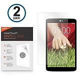 LG G Pad 8.3 Screen Protector, BoxWave® [ClearTouch Anti-Glare (2-Pack)] Anti-Fingerprint Matte Film Skin for LG G Pad 8.3