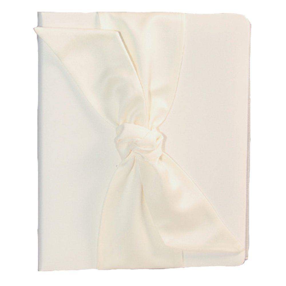 Love Knot Wedding Memory Book, White by Beverly Clark