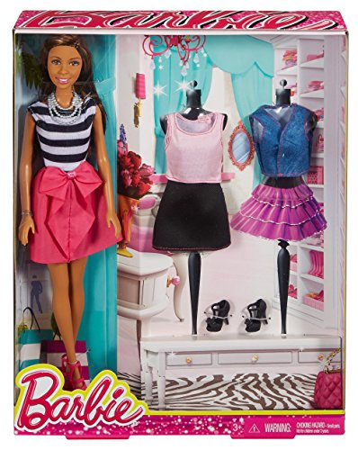 (Barbie Nikki Doll and Fashions Giftset)