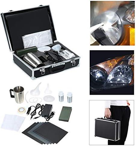 Fesjoy Kfz Scheinwerfer Restaurierungs Kits Autoscheinwerfer Reparatur Werkzeug Glas Kratzer Reparatur Scheinwerfer Renovierung Kratzer Reparatur Kit Baumarkt