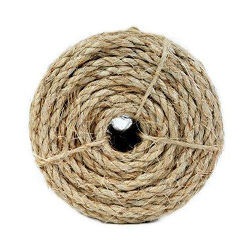 Koch 5301235 3/8 by 50-Feet Sisal Twisted 3 Strand Rope, ...