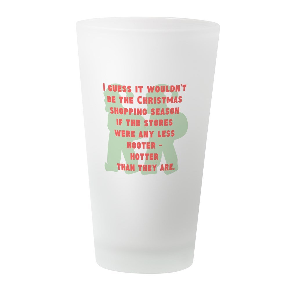 Amazon.com: CafePress - Hooter - Hotter - Pint Glass, 16 oz ...