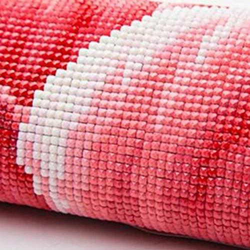 Iycorish Diamante Redondo Completo Pintura Diamante Bricolaje Utensilios de Cocina Paisaje Bordado Punto de Cruz Decoraci/óN para el Hogar