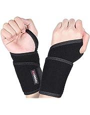 YOUNGDO verstellbar Handgelenkbandage Set/Handgelenkschoner/Handgelenkstütze für Kraftsport, Alltag Fitness, Crossfit, Fitness