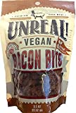 Louisville Vegan Jerky - Unreal Bacon Bits Vegetarian Premium Faux Meat, Non-GMO Certified, Gluten Free (5-Pack, 3.5 Ounce)
