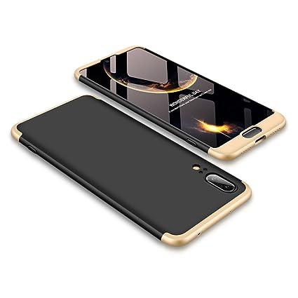 2ndSpring Apple iPhone 6S Funda, iPhone 6 Case 360 Grados Integral para Ambas Caras + Cristal Templado, Luxury 3 in 1 PC Hard Skin Carcasa Case Cover ...