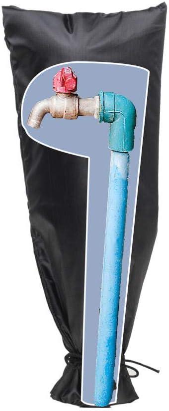 Tap Cozy Cover, Cubierta de grifo exterior para invierno, Protector de grifo para grifos de jardín exterior, Cubierta de espita con aislamiento impermeable para protección contra congelamiento: Amazon.es: Deportes y aire libre