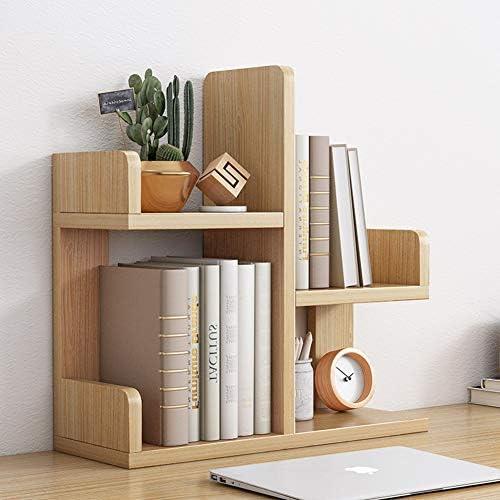 Desktop Organizer Office-speicher-Rack,Home Decor Kleine Bücherregal Display Rack Büro Bedarf Schreibtisch Organizer,Für Office Kitchen Multipurpose Rack, B 45x55cm