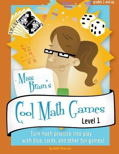 Miss Brain's Cool Math Games: Kelli Pearson: 9780985572501: Amazon ...