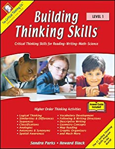 building critical thinking skills level 2 Building thinking skills level 2 - answer guide included by sandra parks & howard black grade 6:: math building thinking skills provides highly effective verbal and nonverbal reasoning activities to improve students' vocabulary, reading, writing, math, logic, and figural-spatial skills as well as their visual and auditory processing.