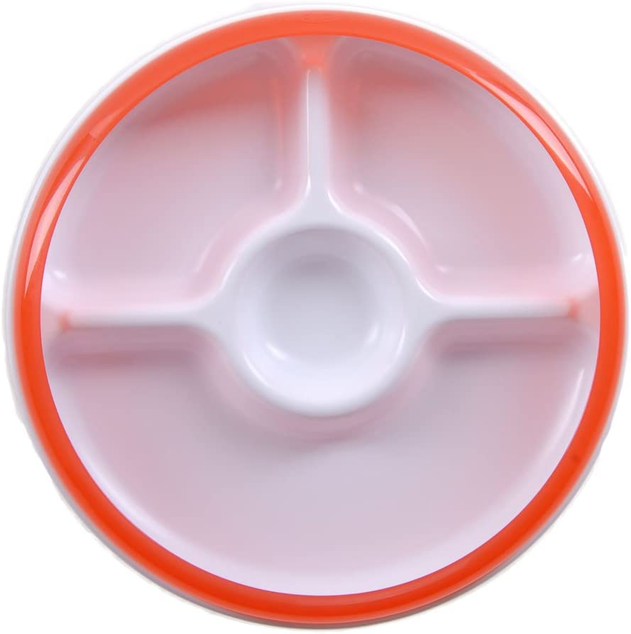 Oxo Assiette 3 Divisions Orange