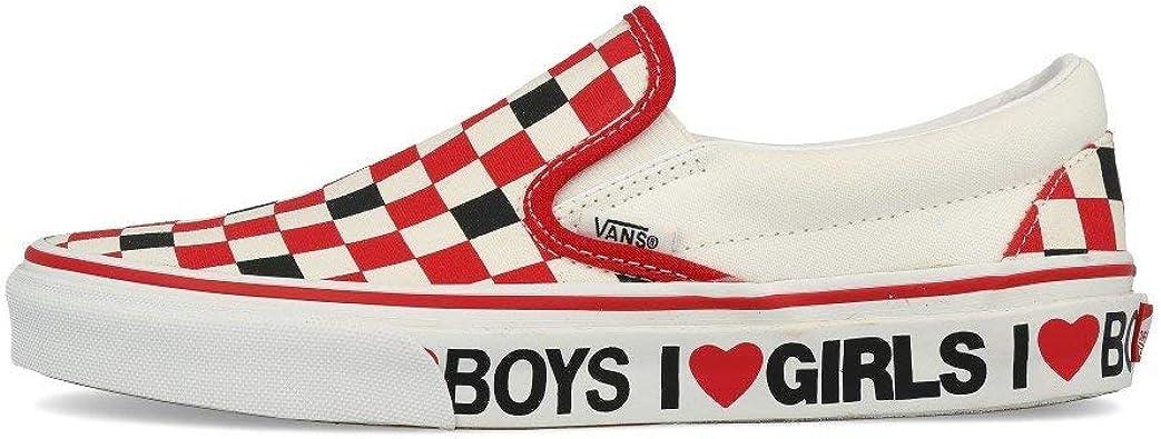 Vans Classic Slip ON I Heart Black