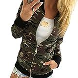 Tenworld Women Camouflage Jacket Coat Autumn Casual Jackets