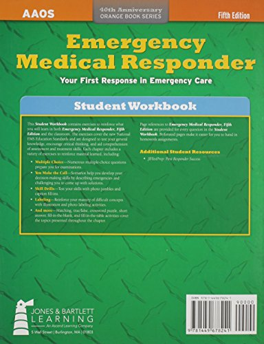 Emergency Medical Responder, Student Workbook - http://medicalbooks.filipinodoctors.org