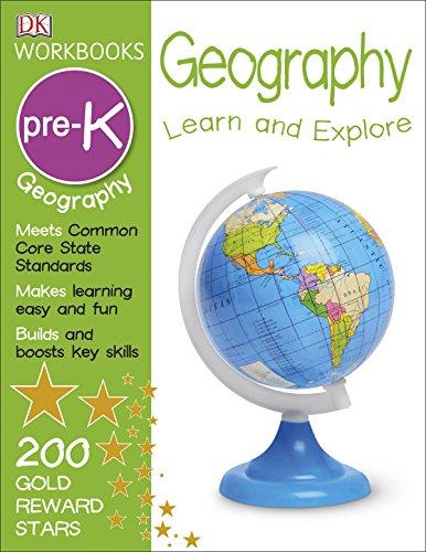 DK Workbooks: Geography, Pre-K