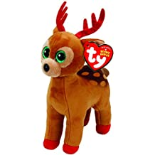 TY Beanie Babies 37238 Tinsel the Christmas Reindeer