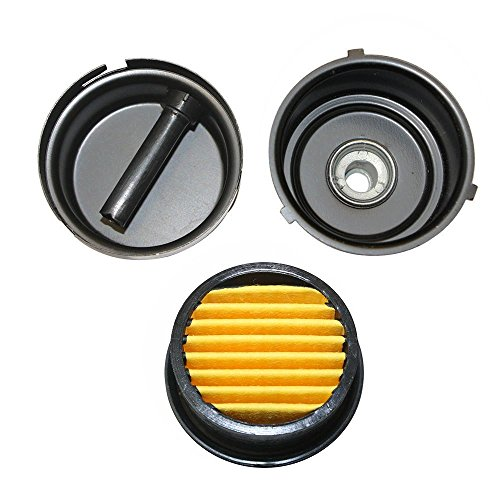 Interstate Pneumatics SA143 - Compressor Air Filter Replacement 3/8 MPT Paper Cartridge Metal Body