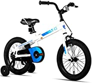 JOYSTAR Whizz Kids Bike with Training Wheels for Ages 2-9 Years Old Boys and Girls, 12 14 16 18 Toddler Bike w