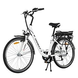 onway 26 zoll damen city e bike garantie leistung. Black Bedroom Furniture Sets. Home Design Ideas