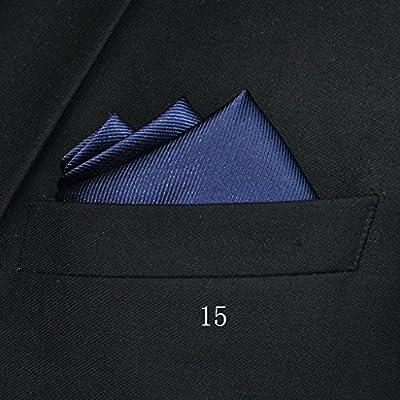 Pocket Square Pañuelo de Bolsillo Cuadrado (24 x 24 cm) para ...