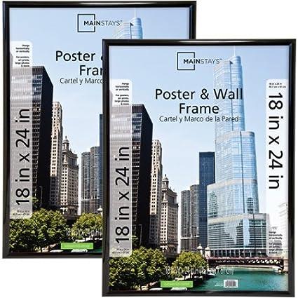 Amazon.com - 18x24 Trendsetter Poster & Picture Frame, Black, Set of 2 -