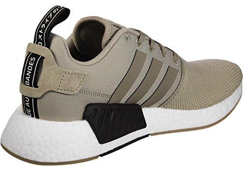 adidas NMD_r2, Zapatillas de Deporte Unisex Adulto Verde (Caqtra/Marsim/Negbas)