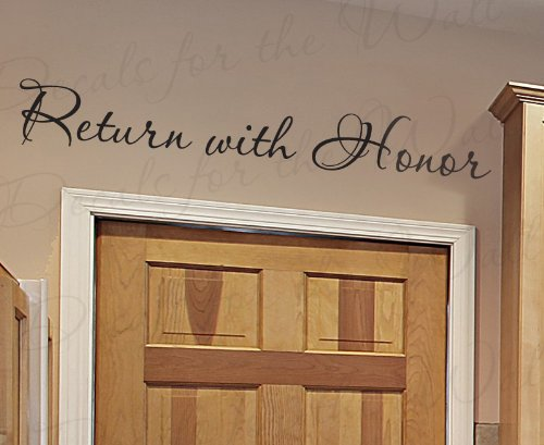 Return With Honor - Inspirational Home LDS Mormon Motivat...
