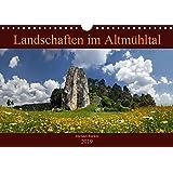 Landschaften im Altmühltal (Wandkalender 2019 DIN A4 quer): Aus dem Naturpark Altmühltal (Monatskalender, 14 Seiten ) (CALVENDO Orte)