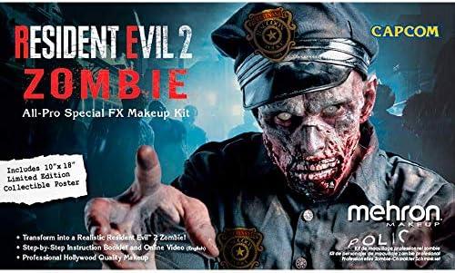Mehron Makeup Resident Evil 2 Zombie All-Pro Makeup Kit