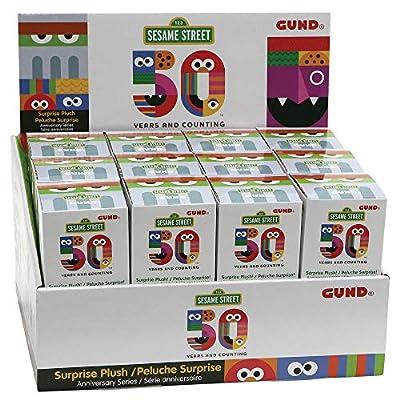 GUND - Sesame Street - 50th Anniversary Surprise Box - One Random Box: Toys & Games