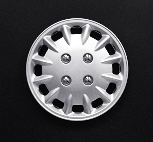 14'' Silver Lacquer Hubcap. Universal. Wheel Cover Set of 4