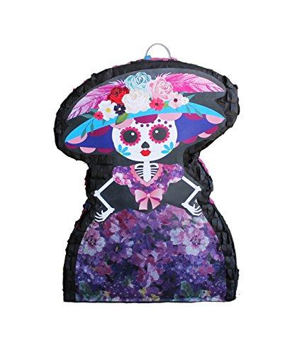Dia De Los Muertos- Catrina Pinata (Make A Halloween Ghost Pinata)