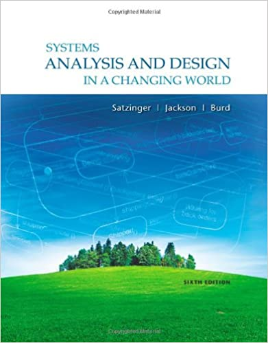 Systems analysis and design in a changing world 6th edition john w systems analysis and design in a changing world 6th edition john w satzinger robert b jackson stephen d burd 9781111534158 amazon books fandeluxe Image collections