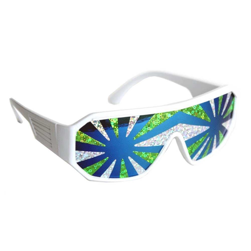 Macho Man Sea Spray Starburst Sunglasses Randy Savage Costume Wrestler WWF Party 14140302A