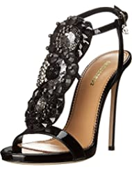 DSQUARED2 Womens T-Strap Heeled Sandal
