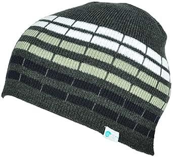 Alki'i cube mens/womens warm beanie snowboarding winter hats - Grey