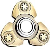 Emob Ckf Vintage Heavy Metal Fidget Hand Spinner Toy with Low - Friction Technology and Long Spinning Time