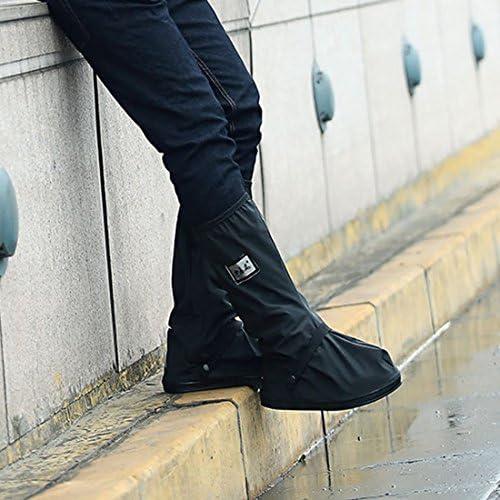 MQFORU Sur-chaussures Gu/êtres /étanches coupe-vent pour cyclistes Protections contre neige pluie chaudes