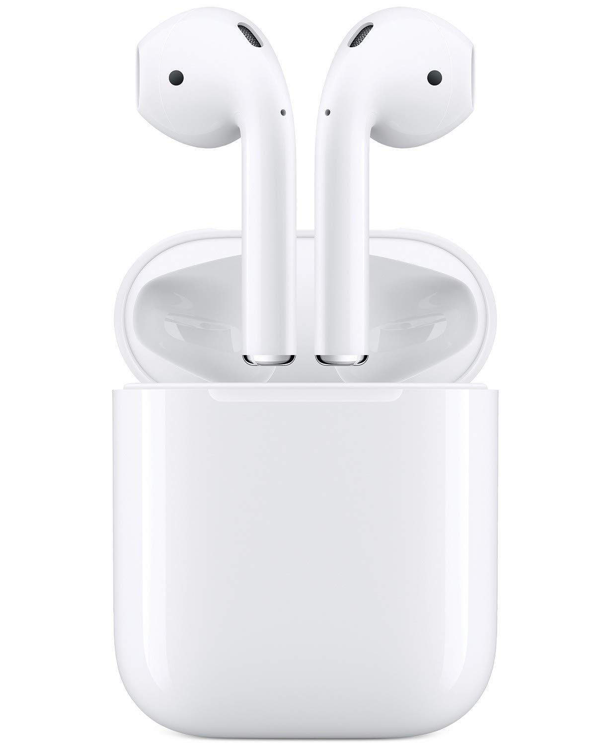 Apple MMEF2AM/A AirPods Wireless Bluetooth Headset for iPhones with iOS 10 or Later White - (Refurbished) Apple Computer