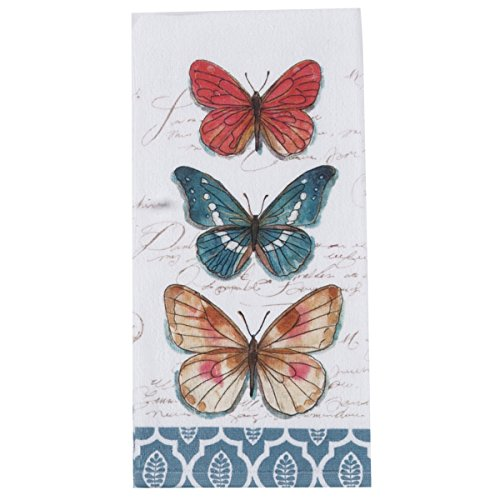 - Kay Dee Designs My Journal Butterfly Garden Terry Towel