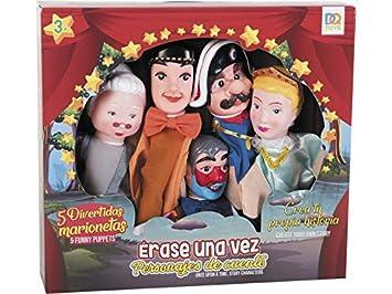 Personajes esJuguetes CuentosAmazon 5 Set Y Marionetas Dqtoys De 2IDe9YWEH