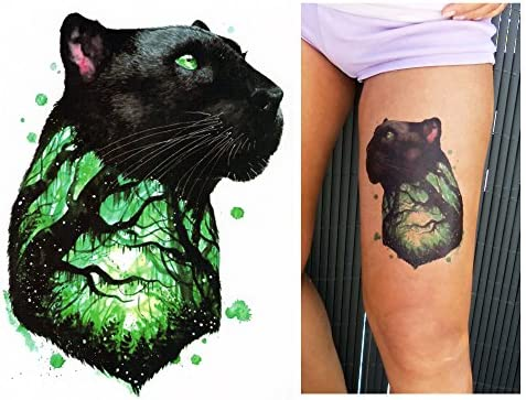 Tatuajes temporales Tempo rary Tattoo Fake Tattoo – De Pantera ...