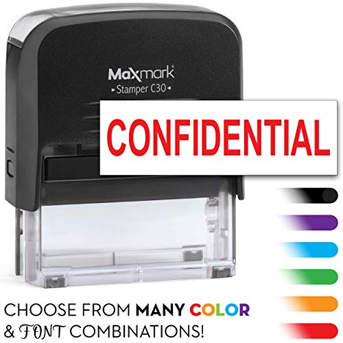 MaxMark One Line Self Inking Stamp - 3/4