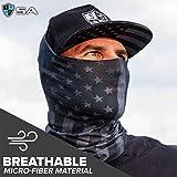 S A - UV Face Shield 5 Pack - Multipurpose Neck