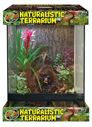 Naturalistic Terrarium - Zoo Med Laboratories NT-4 Naturalistic Terrarium, X-Large