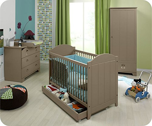 Babyzimmer komplett Charme Lein