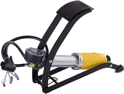 Inflador de neumáticos Bomba de bicicleta Bombas de pie de una ...